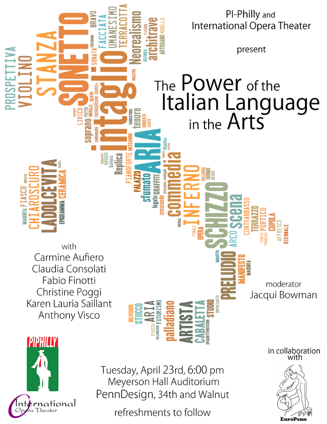 The Power of the Italian Language in the Arts